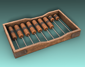 3D model Abacus