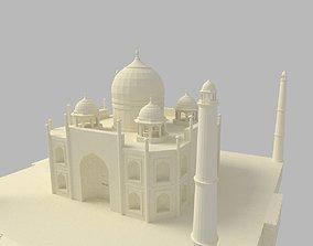 Taj Mahal 3D asset VR / AR ready