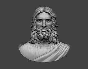 Jesus Head Pendant 3D Print