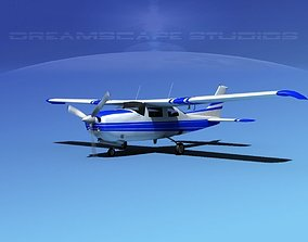 3D Cessna 210 Centurion V08