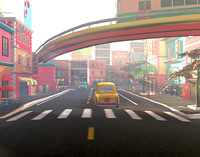 Asset - Cartoons - Street 3D Model realtime