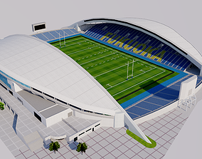 3D model Level5 Stadium - Fukuoka