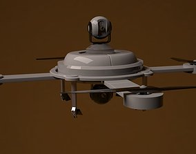 3D model animated Drone