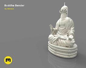 3D printable model Bender Buddha Statue