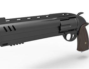 3D model Samaritan Revolver from the movie Hellboy