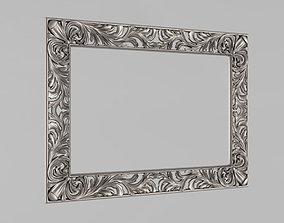 frame 3D print model Frame for the mirror