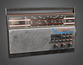 Old Radio TLS - PBR Game Ready 3D model