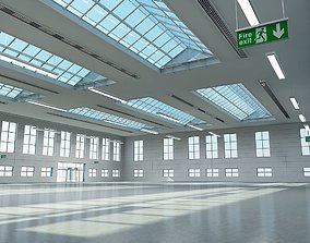 3D Warehouse Building Interior And Exterior