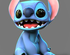 3D printable model character Stitch