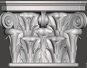 fresado Corbel - 3d model for CNC
