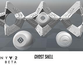 3D print model Ghost shell Beta Destiny 2
