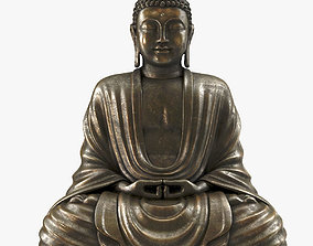 Sitting Buddha Statue 3D model