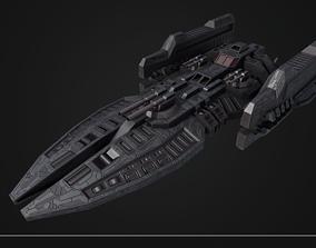 spacecraft 3D model VR / AR ready Spaceship