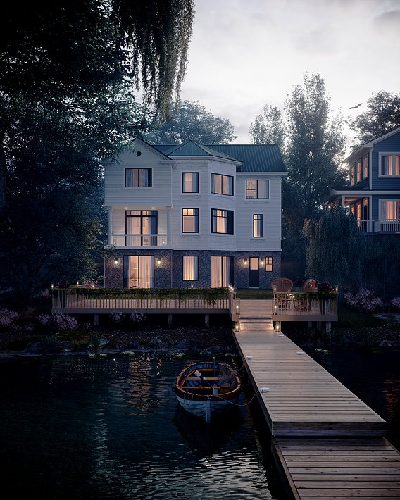Lake house - Ocean Ave, Amityville, New York, USA