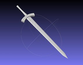 Fate Saber Alter Sword Printable Assembly