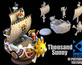Thousand Sunny 3D Scan