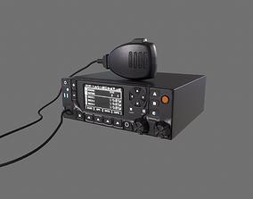 Kenwood Viking VM7000 Radio Wireless Transceiver 3D asset
