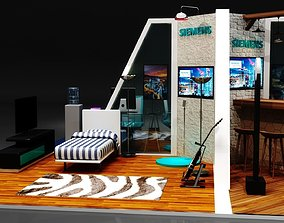 Exhibition Stand 3D model rollup