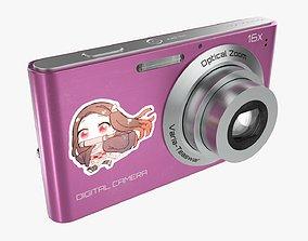 3D PBR Digital compact camera 02