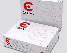 3D asset Box Packaging