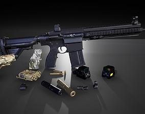 HK417 FPS PACK 3D model