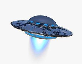 Alien Ufo ship 3D model