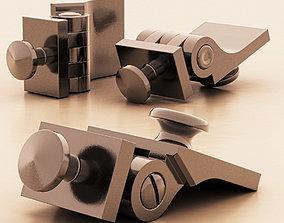 Bisagra para Anteojos - Hige for 3D model