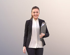 Nelly 10739 - Business Woman Walking And 3D model 2