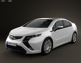 3D model Opel Ampera 2011