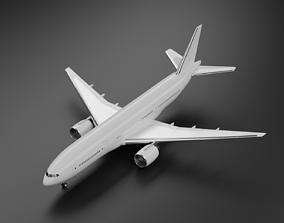 Boeing 777-200ER 3D model