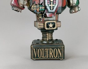 voltron battle damaged bust 3d model
