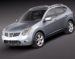 Nissan Rogue 2011 3D
