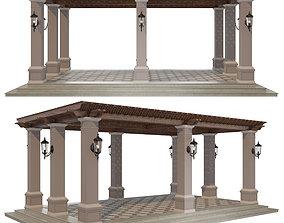 3D model Pergola berso