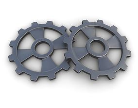 3D Steampunk Gear 12