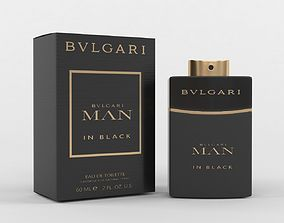 Bvlgari Man In Black Cologne Perfume Eau De 3D model 3