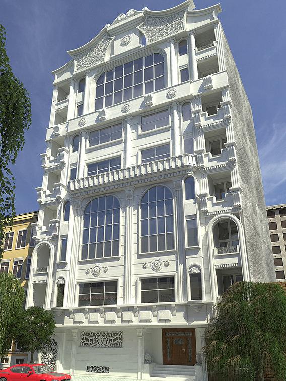 classic facade