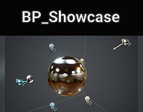Unreal Engine 4 - Showcase Blueprint and Resources 3D