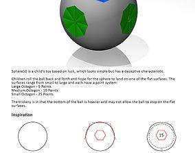 Sphere50 Ball 3D printable model