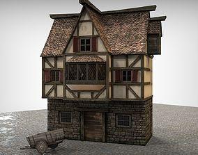 Fachwerk house 3D model