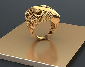 jewelry ring 3D printable model fashion-and-beauty