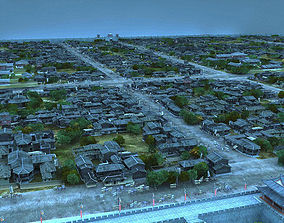The ancient city Chinese 3D