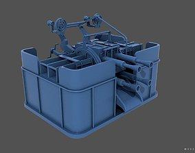 QF2-pdr Mark VIII 4 barelled 3D print model