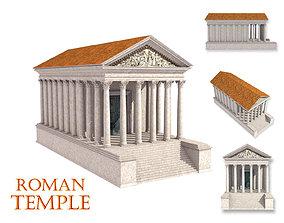 Roman temple 3D