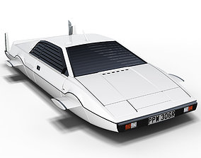 Lotus Esprit S1 Submarine Car 3D