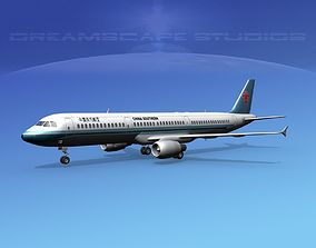 Airbus A321 China Southern 3D