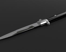 Switchblade knife - Stiletto 3D