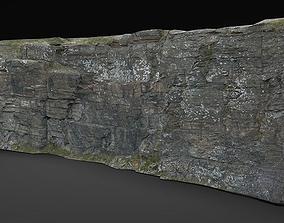 rock cliff 1 3D asset