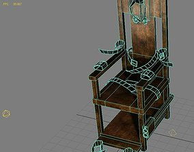 Torture Chair Low Poly Model 3D asset