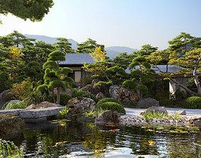 Japanese garden-Bundle 06 3D model