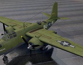 3D Douglas A-20J Havoc - Boston Mk-5